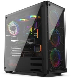 Krux Leda RGB ATX Mid-Tower Black
