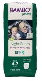 Mähkmed Bambo Dreamy Night Pants Boy 4-7 10pcs