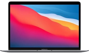 "Sülearvuti Apple MacBook Air Retina / M1 / SWE / Space Gray, 8GB/256GB, 13.3"""