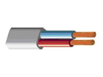 Lietkabelis H03VVH2-F, 2 x 0,75 mm²