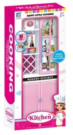 Askato Happy Little Cooking Dream Kitchen With Cabinets 106328
