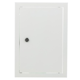 Glori ir Ko Access Panel 200x300 White With Key Lock
