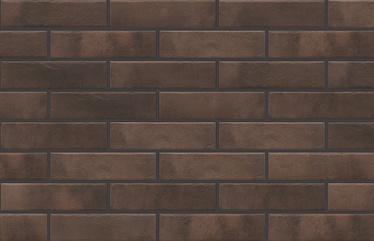 Cerkolor Clinker Tiles Brick Brown 24.5x6.5cm