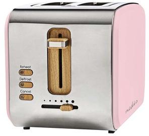 Тостер Nedis KABT510EPK Pink