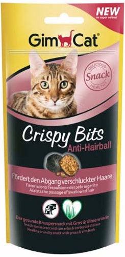 Gimborn GimCat Crispy Cat Bits Anti-Hairball 40g