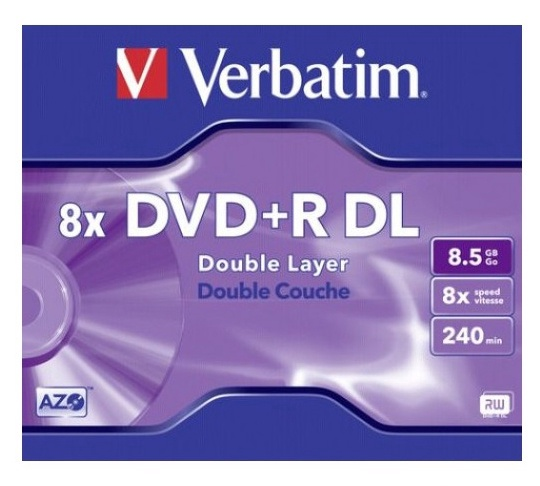 Verbatim DVD+R DOUBLE LAYER 8.5GB 8X