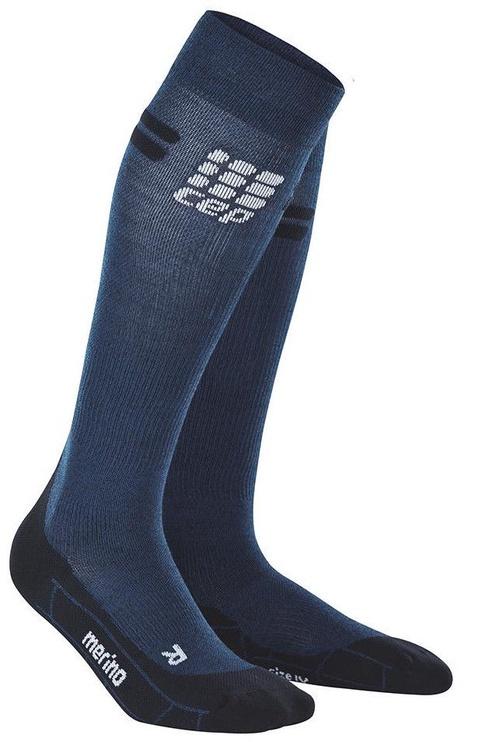 CEP Women's Merino Socks Navy/Black 3