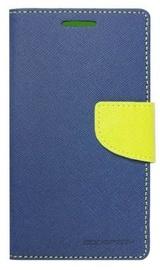 Mercury Fancy Diary Book Case For LG D290N Fino Blue/Light Green