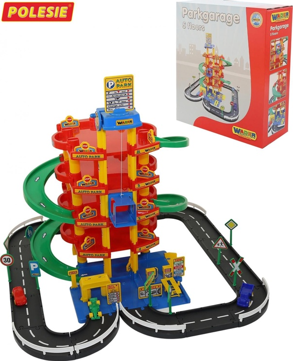 Wader Park Garage 5 Floors With Street And Cars 38104