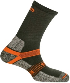 Mund Socks Cervino Grey/Orange 38-41