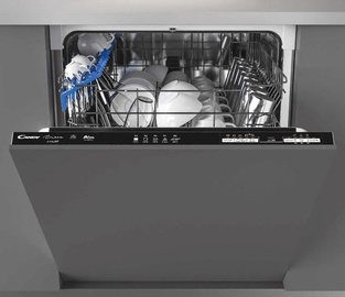Candy CDIN 1L360PB Built-In Dishwasher Metal Grey