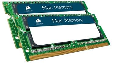 Corsair Mac Memory 16GB DDR3 CL11 SO-DIMM KIT OF 2 CMSA16GX3M2A1600C11