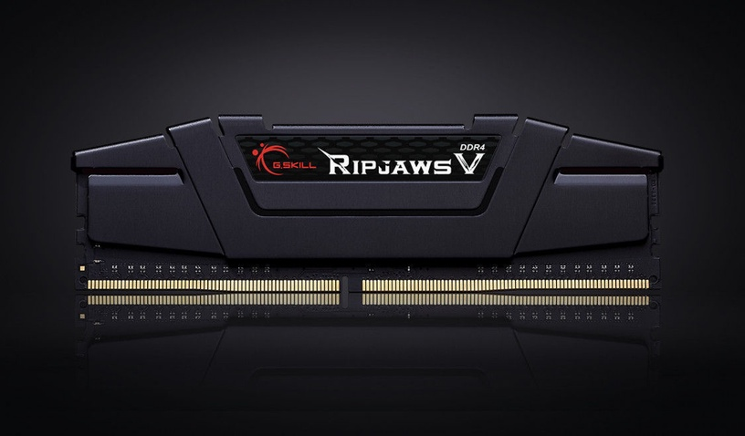 G.SKILL RipJawsV Black 32GB 3200MHz CL14 KIT OF 2 F4-3200C14D-32GVK
