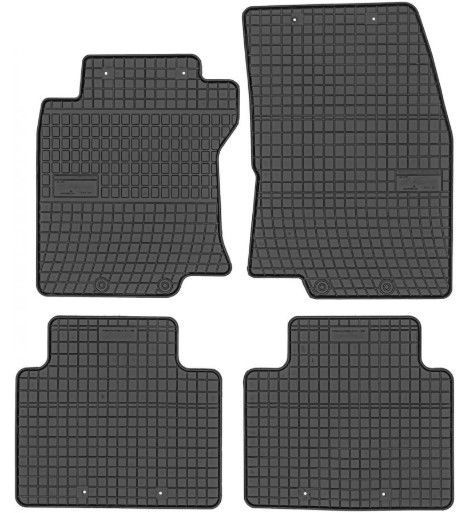 Frogum Nisan X-Trail III 2014 Rubber Floor Mats