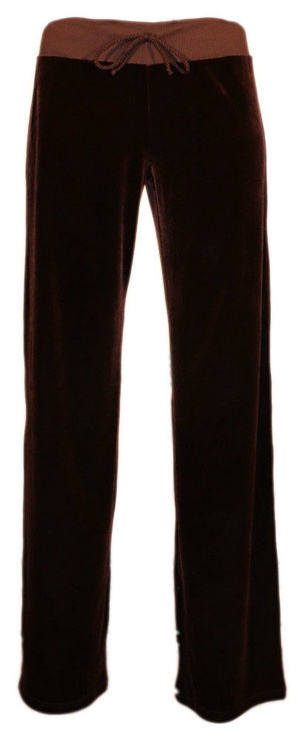 Bars Womens Trousers Dark Brown 84 XL