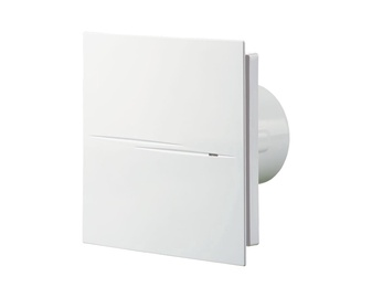 Vents 100 Quiet Style TH Bathroom Extractor Fan 100mm White