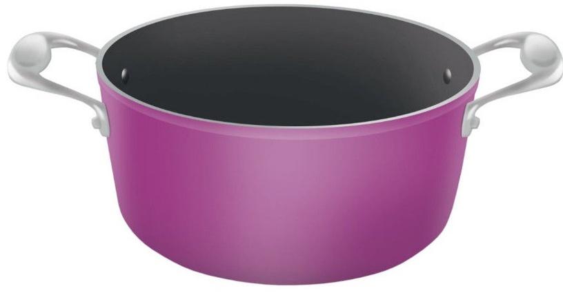 Lamart Ceramic Pot 22cm Violet/Black