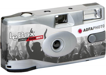 AgfaPhoto LeBox Disposable Camera Black & White With Flash