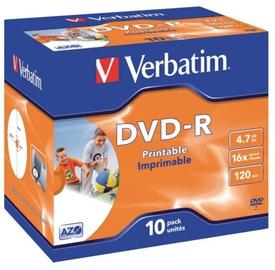 Verbatim DVD-R 4.7GB 16x 10 pcs