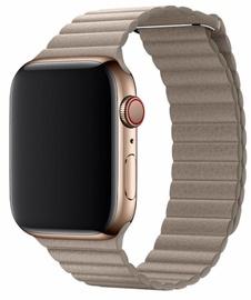 Devia Elegant Leather Loop For Apple Watch 44mm Grey