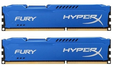 Operatiivmälu (RAM) Kingston HyperX Fury Blue HX318C10FK2/8 DDR3 (RAM) 8 GB