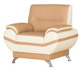 Kanclers Livonia Armchair Eco Leather Beige/Cream