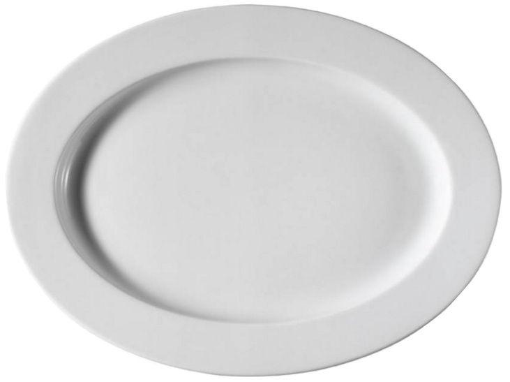 Kutahya Porselen Pera Oval Plate 35cm