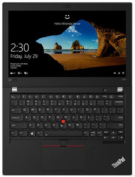 Lenovo ThinkPad X280 Black 20KE003JMH