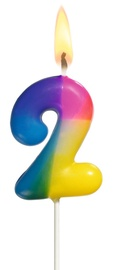 Susy Card Multicoloured Number Candle 2