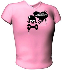 GamersWear Gamers Girlfriend Top Pink L