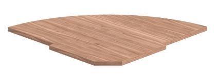Skyland Imago PC-5.1 Reception Shelf 81.5x81.5x2.2cm Ash Shimo