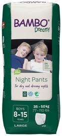 Mähkmed Bambo Dreamy Night Pants Boy 8-15, 10 tk