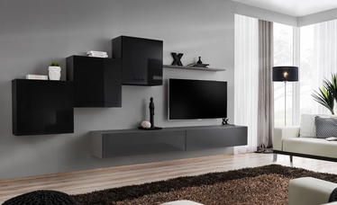 ASM Switch X Wall Unit Black/Graphite