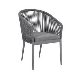 Home4you Ecco Garden Chair Grey