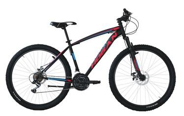 "Jalgratas Henry Hogan UOMO MTB Black/Red, 27.5"""