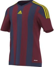 Adidas Striped 15 T-Shirt S16141 Burgundy/Navy 128cm