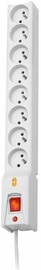 Lestar Surge Protector 8 Outlet White 1.5m