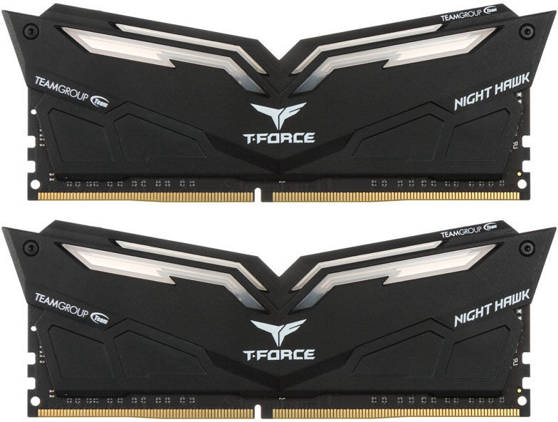 Team Group T-Force Nighthawk Red LED 16GB 3000MHz CL16 DDR4 KIT OF 2 THRD416G3000HC16CDC01