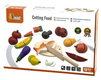 Viga Cutting Food Set 59560