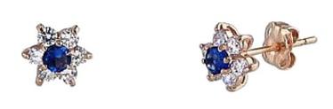 Diamond Sky Gold Earrings Andromeda V