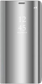 Hurtel Clear View Case For Xiaomi Redmi Note 9 Silver