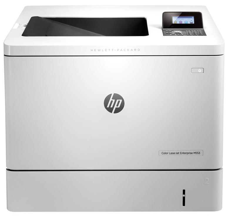 Laserprinter HP Enterprise M553dn, värviline