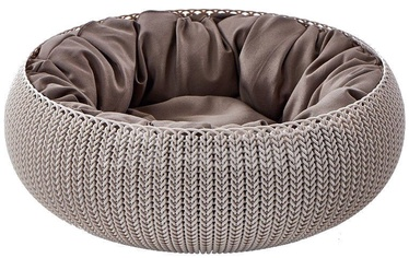 Curver Cushion Knit 54x54x20.2 Brown (поврежденная упаковка)