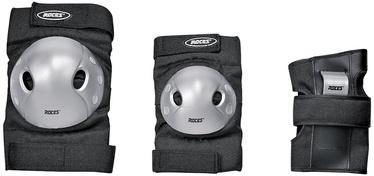 Roces SJR Extra Three Pack Black/Grey