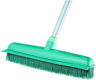 Leifheit Rubber Floor Brush With Telescopic Stem 35cm