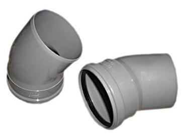 Wavin Elbow Pipe Grey 67° 40mm