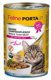 Feline Porta 21 Cat Wet Food w/ Tuna & Aloe 400g