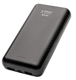 Savio BA-03 20000mAh Power Bank