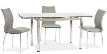 Обеденный стол Signal Meble GD018 Gray, 1100 - 1700x740x750 мм