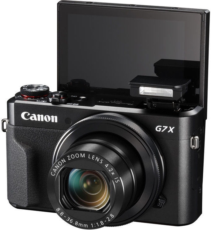 Canon Powershot G7X Mark II Black